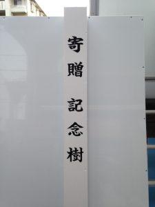 木柱 書文字