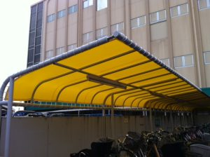 駐輪場テント